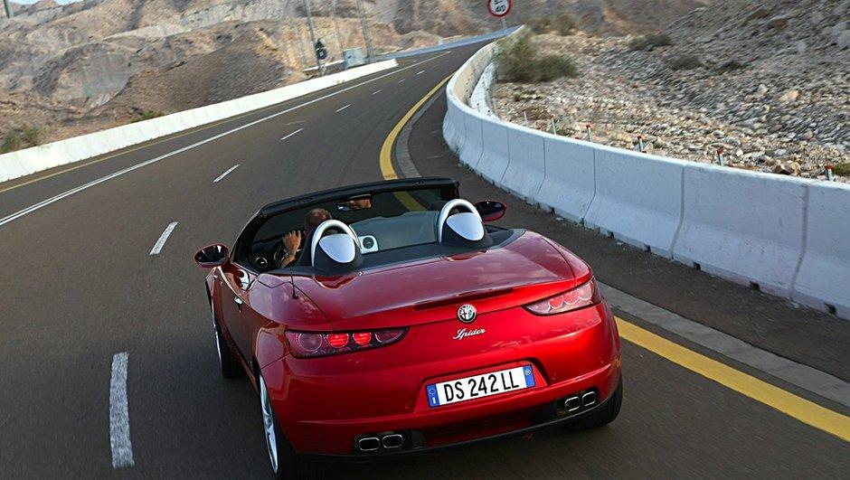 Alfa Romeo Brera et Spider : fin de production des belles italiennes