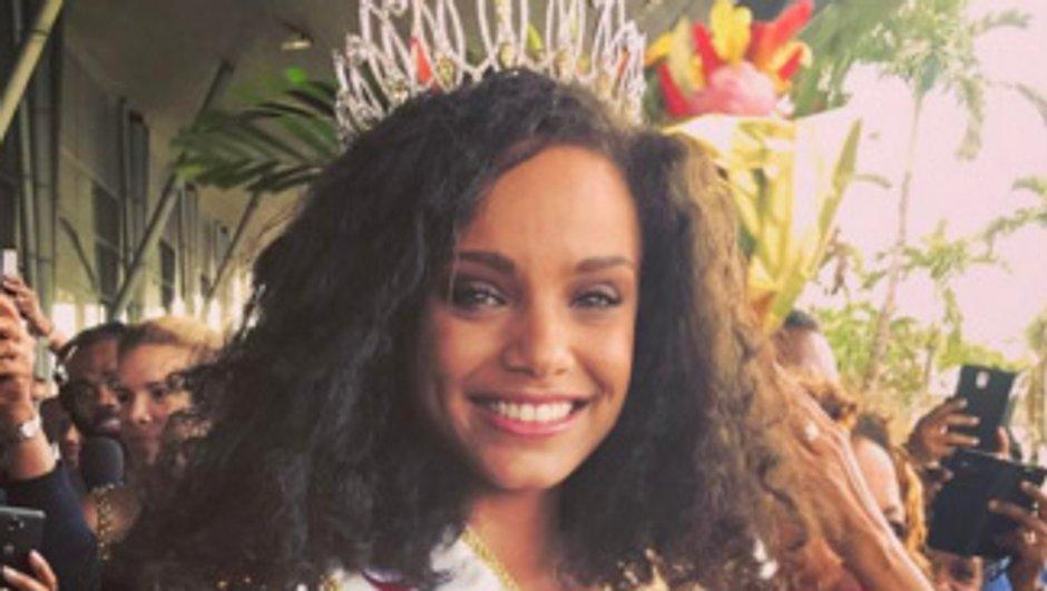 L'arrivée de star d'Alicia Aylies en Guyane