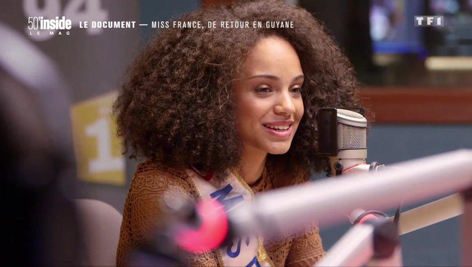 Miss France 2017 : son bain d'amour en Guyane