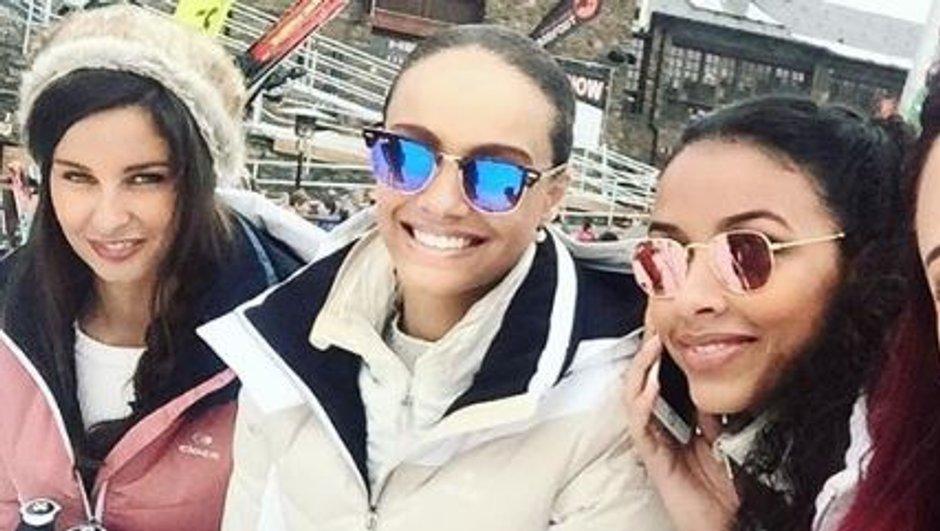 Les plus beaux clichés d'Alicia Aylies et les anciennes Miss France au ski !