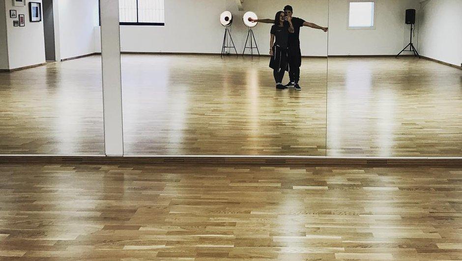 Alizée et Grégoire Lyonnet ouvrent leur studio de danse !