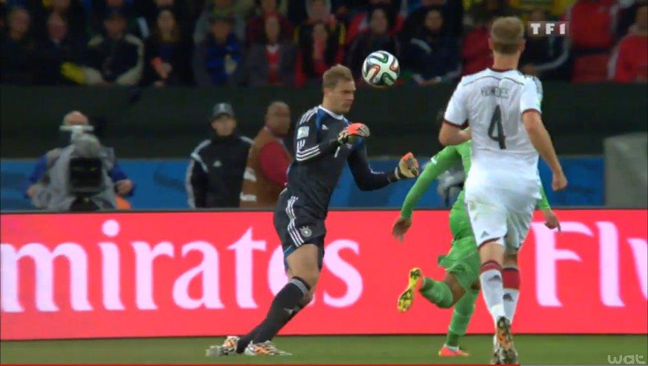 La Rumeur #CM2014 : L'Algérie porte réserve contre l'Allemagne, non-autorisée à jouer avec un goal volant