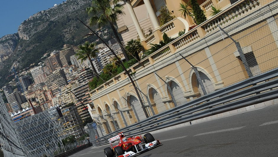 Essais libres F1 : Alonso le taureau rouge fonce à Monaco