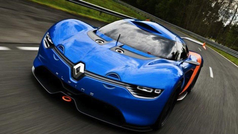 Renault Alpine : le plein de photos pour le concept