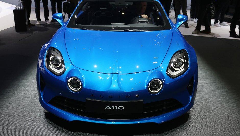 La nouvelle Alpine A110 évènement du Salon de Genève 2017
