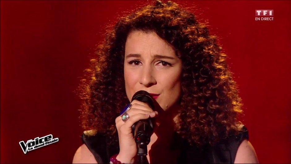 Amandine, fabuleuse sur une chanson de Serge Lama !