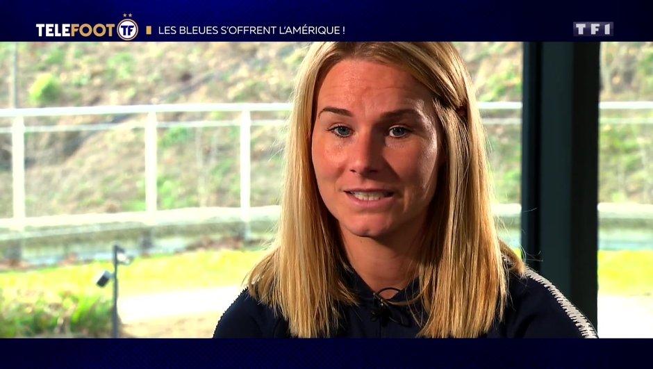 """[TELEFOOT 20/01/2019] Coupe du monde 2019 - Amandine Henry : """"On est capable de le faire"""""""