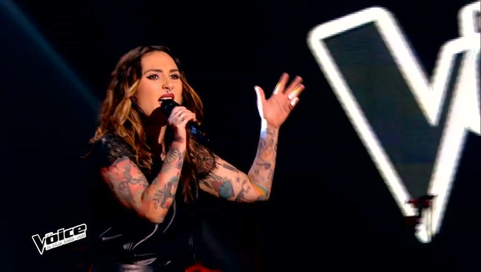"The Voice 4 - VIDEO : Amélie Piovoso a rendu les coachs  accrocs sur ""Addicted to you"" de Avicii"