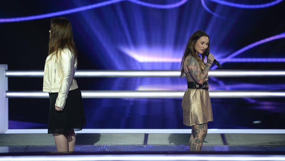 The Voice 4 : Jenifer clôt son équipe pour l'Epreuve Ultime avec Amélie Piovoso