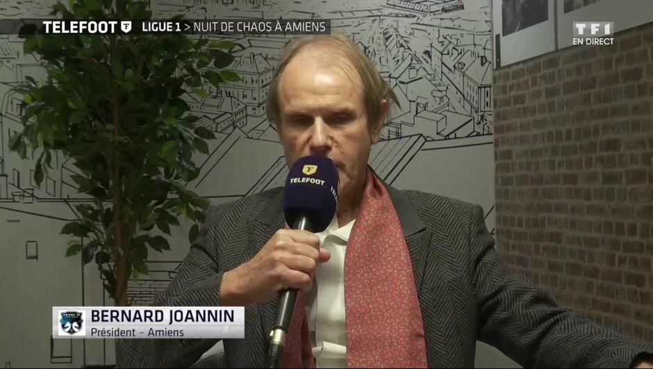 """[EXCLU Téléfoot 01/10] - Amiens / LOSC : Bernard Joannin : """"Je me suis exprimé de façon maladroite et je le regrette fortement"""""""