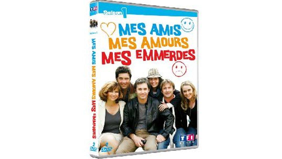 """Saison 1 de """"Mes amis, mes amours, mes emmerdes"""" en DVD le 5 octobre !"""