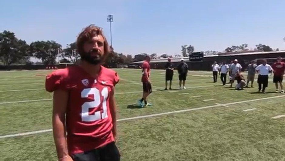 VIDEO Insolite : Bonucci et Pirlo s'essayent au Foot US !