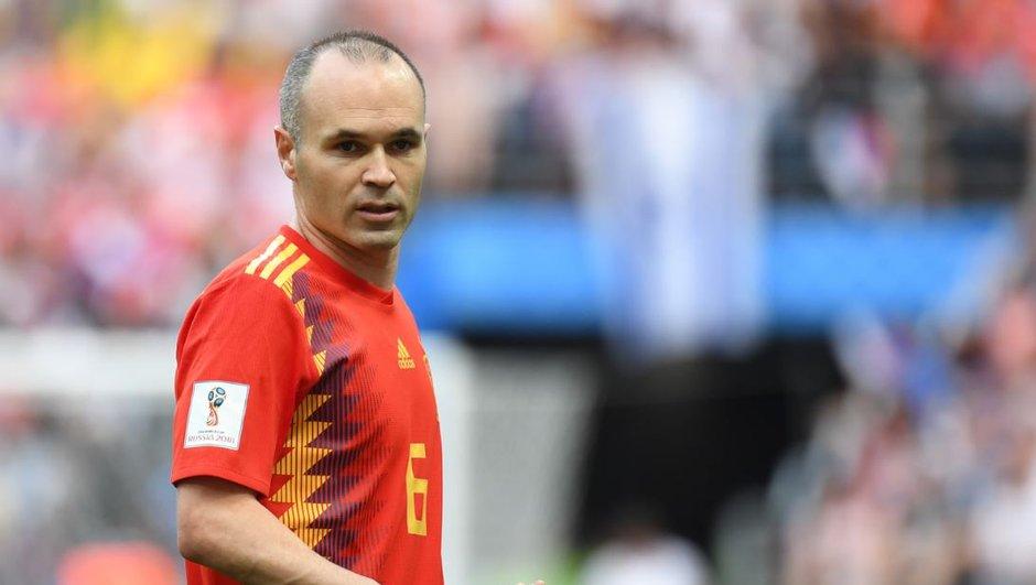"""""""Mon dernier match avec l'Espagne"""" : Iniesta confirme ses adieux à la Roja"""