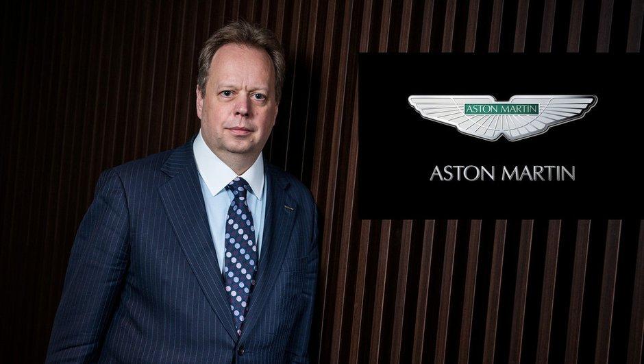 Aston Martin : Andy Palmer nommé nouveau PDG