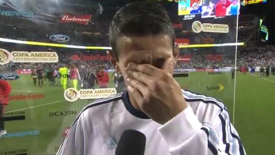 Copa America : L'émouvant hommage d'Angel Di Maria à sa grand-mère décédée