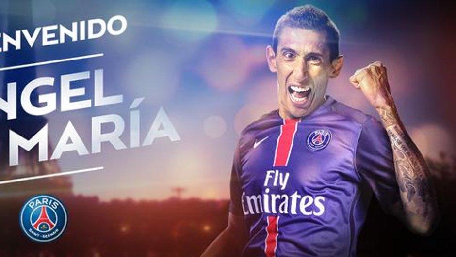 Mercato : C'est officiel, Angel Di Maria s'est engagé au PSG