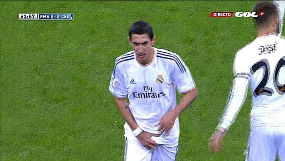 Real Madrid : le geste obscène de Di Maria (vidéo)