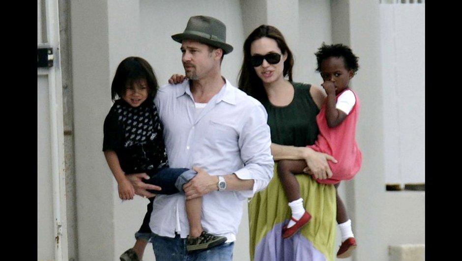 Trois enfants d'Angelina Jolie héritent de 100 000 dollars chacun