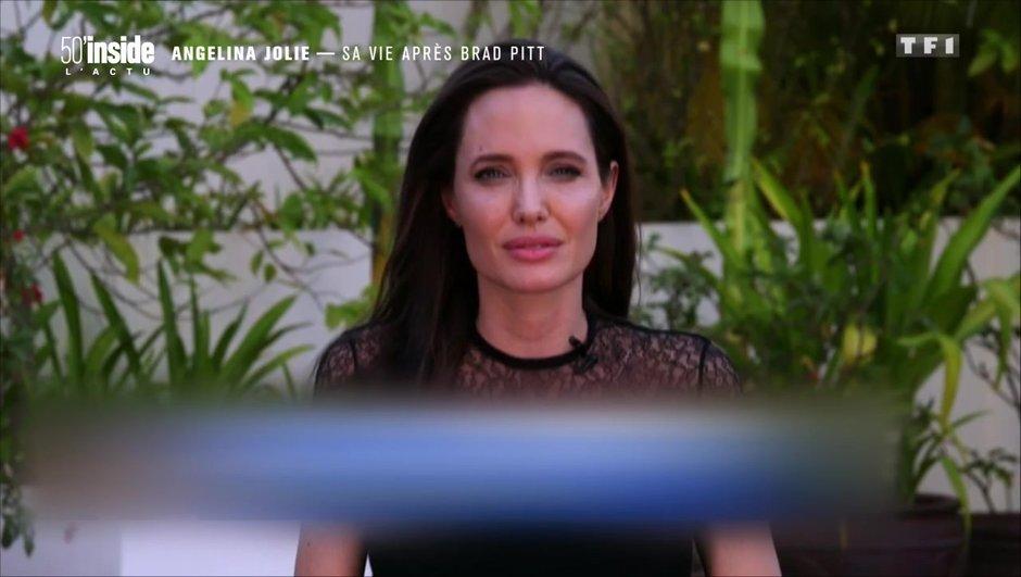 Angelina Jolie : après son divorce, elle reprend la parole