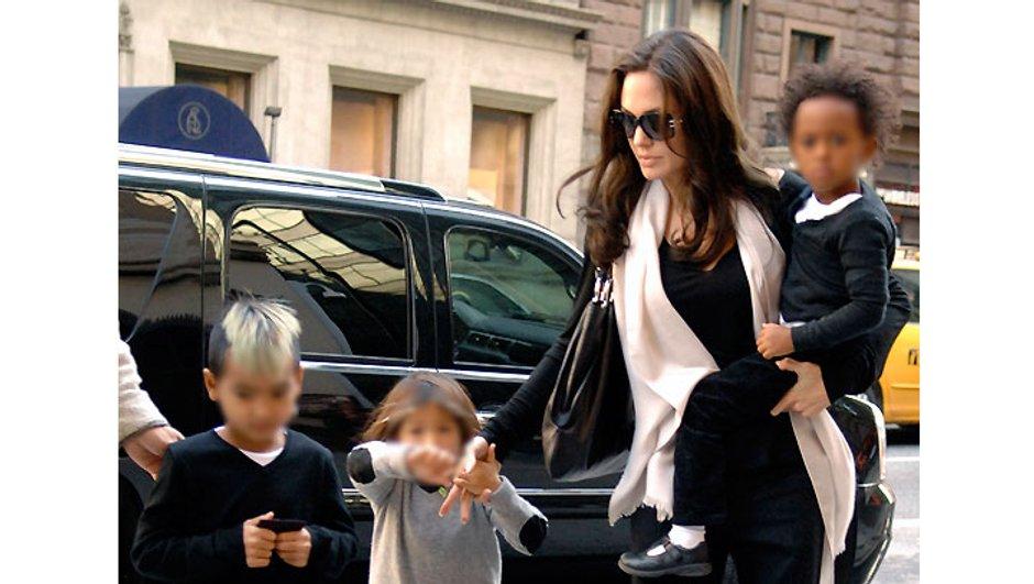 Angelina Jolie s'exile en Hongrie avec ses enfants !