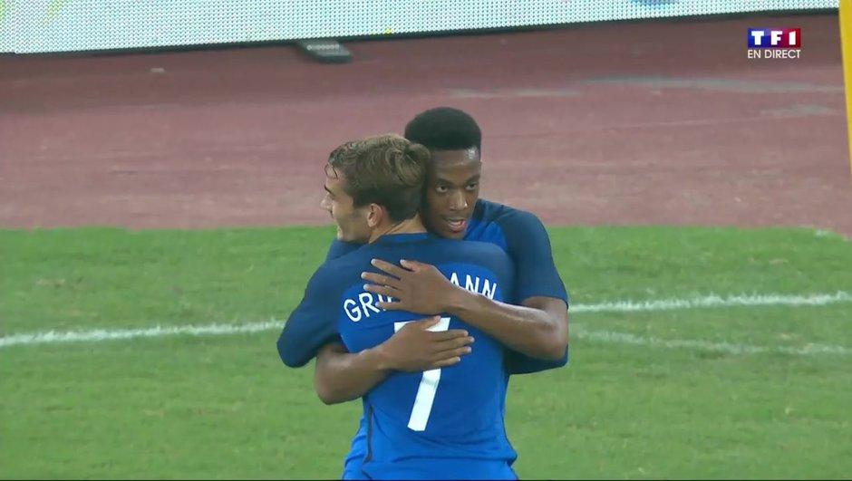 Italie-France : Ouverture du score d'Anthony Martial ! 0-1