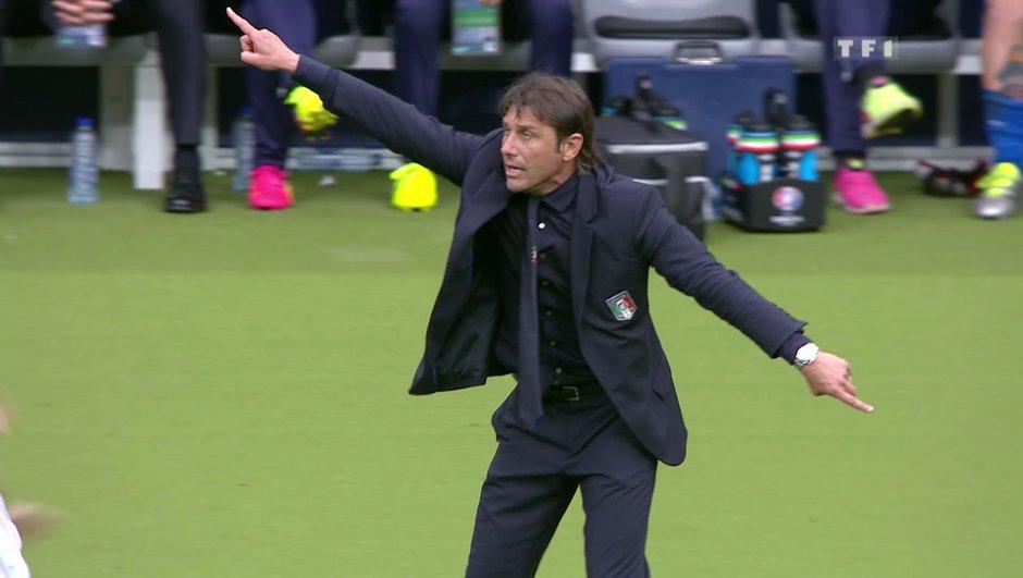 Conte à Chelsea : « Lutter pour le titre et revenir en C1 »