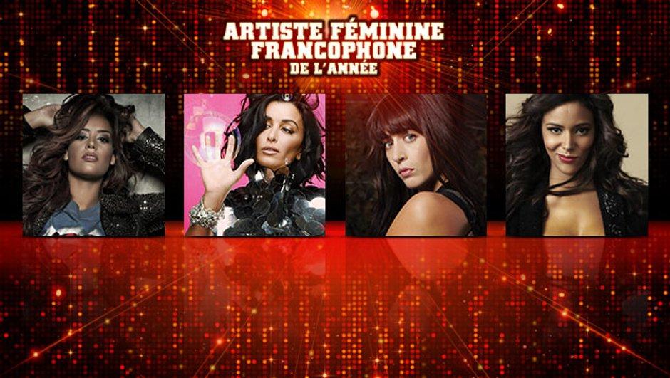 Jenifer, Nolwenn Leroy, Amel Bent et Shy'm : les NRJ Music Awards vont élire l'artiste féminine francophone de l'année