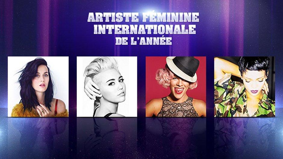 NRJ Music Awards - Artiste Féminine Internationale de l'année : les nominées