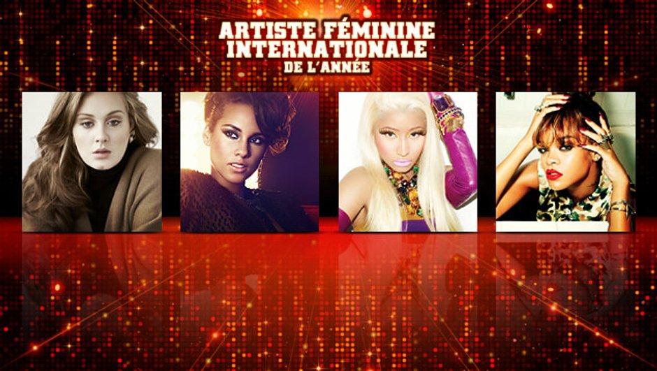 Rihanna, Adele, Nicki Minaj, Alicia Keys : une seule aura sa place