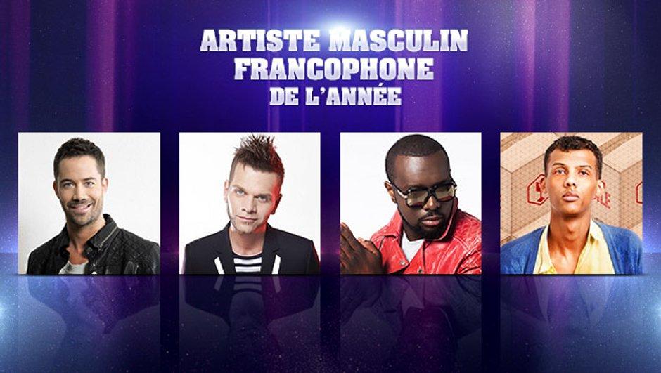 NRJ Music Awards - Ils veulent être l'Artiste Masculin francophone de l'année !