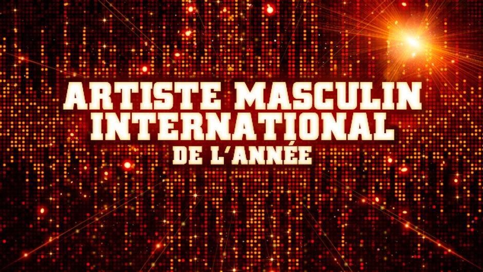 Artiste Masculin International de l'année - Pré-nominations - NRJ Music Awards 2013