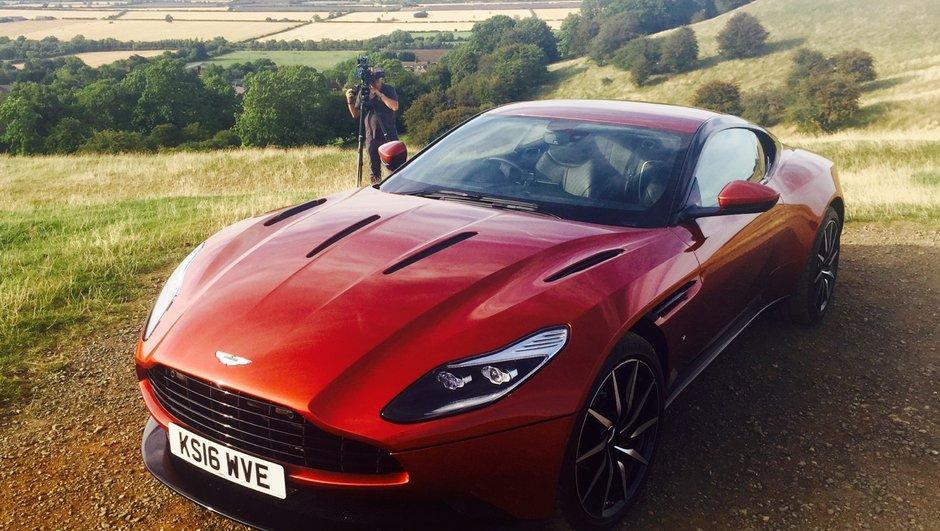 Teaser : Automoto avec la nouvelle Aston Martin DB11