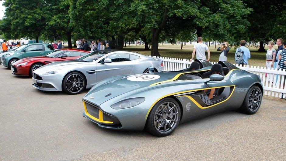 Aston Martin CC100 : les deux exemplaires vendus