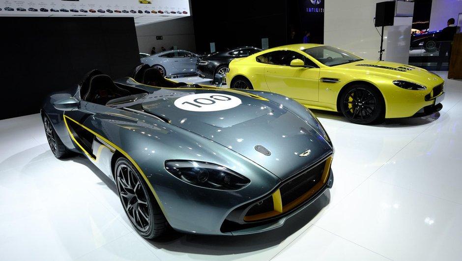 Salon de Francfort 2013 : Aston Martin fête ses 100 ans