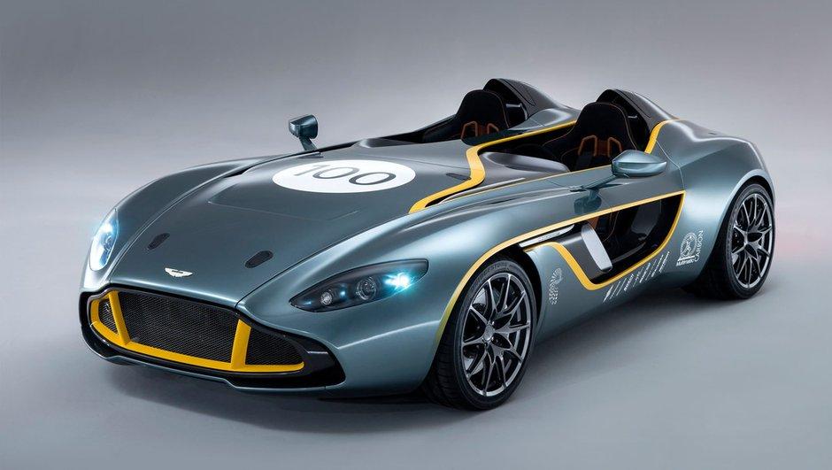 Aston Martin CC100 Speedster Concept : le modèle du centenaire