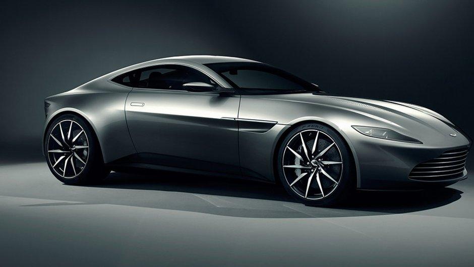 """Aston Martin DB10 : le bolide inédit du nouveau James Bond, """"Spectre"""""""