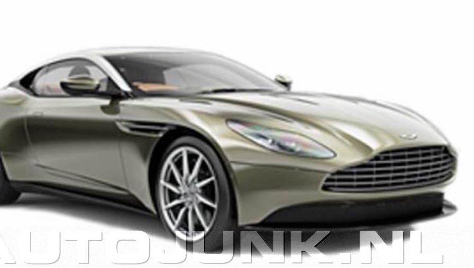 Future Aston Martin DB11 : la 1ère photo officielle en fuite ?