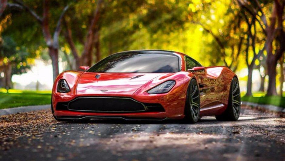 Une nouvelle sportive Aston Martin pour concurrencer la Ferrari 488 GTB?