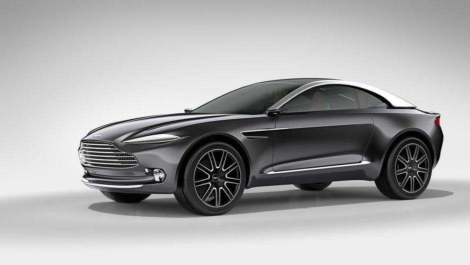 Futur Aston Martin DBX : le crossover pour 2019 ?