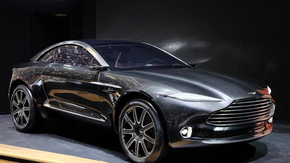 Salon de Genève 2015 : Aston Martin DBX Concept, mystérieux crossover coupé (+ vidéo)