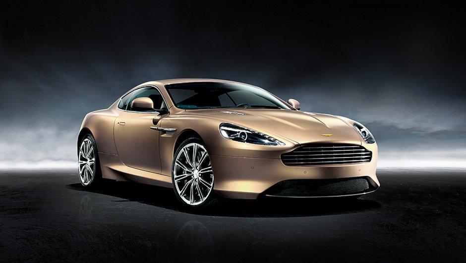Salon de Pékin 2012 : Aston Martin Edition 88, or et dragon à l'appui