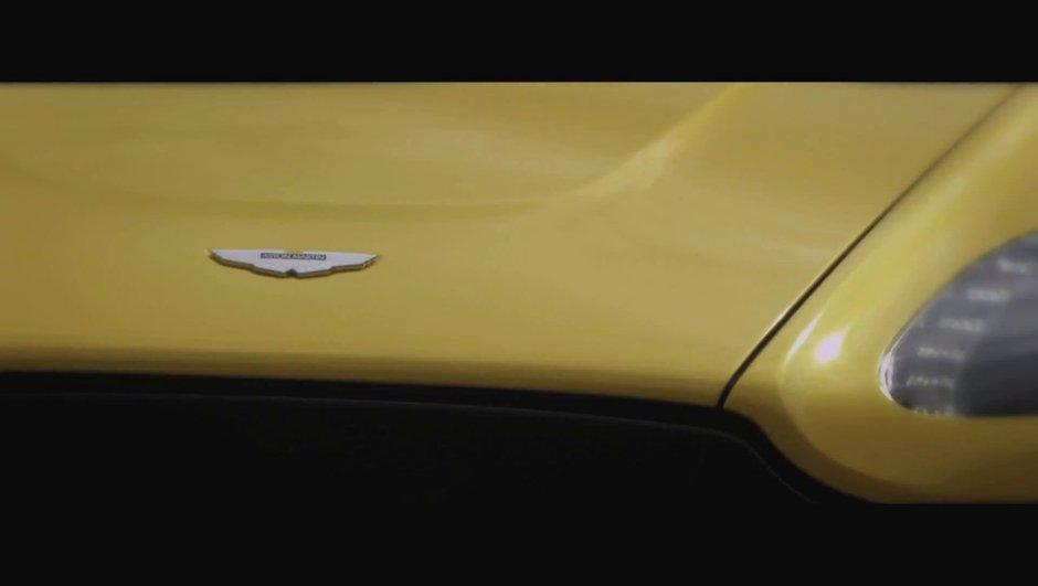 """Vidéo Aston Martin : second teaser pour la V12 Vantage """"mystère"""""""