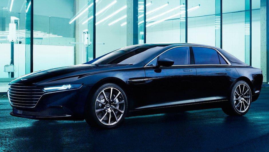 Aston Martin Lagonda 2015 : nouvelles photos officielles