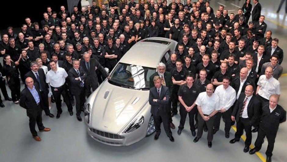 L'Aston Martin Rapide : sortie imminente !