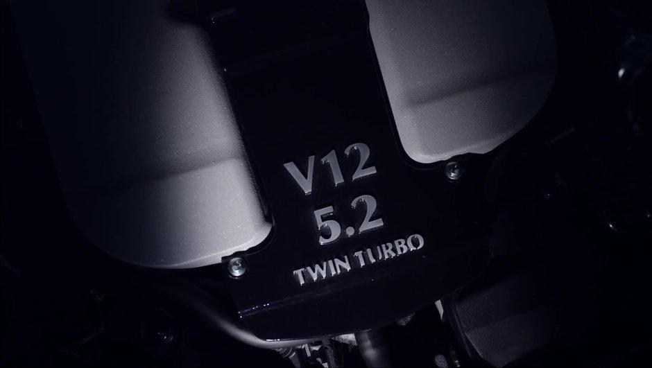 Aston Martin DB11 2016 : elle dévoile son futur moteur V12 turbo