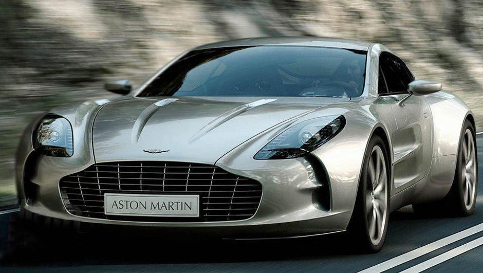 Genève 2009 : Aston Martin One-77, le supercar à l'anglaise !