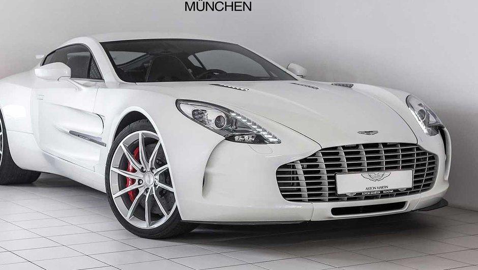 Une Aston Martin One-77 à vendre pour près de 3 millions d'euros !
