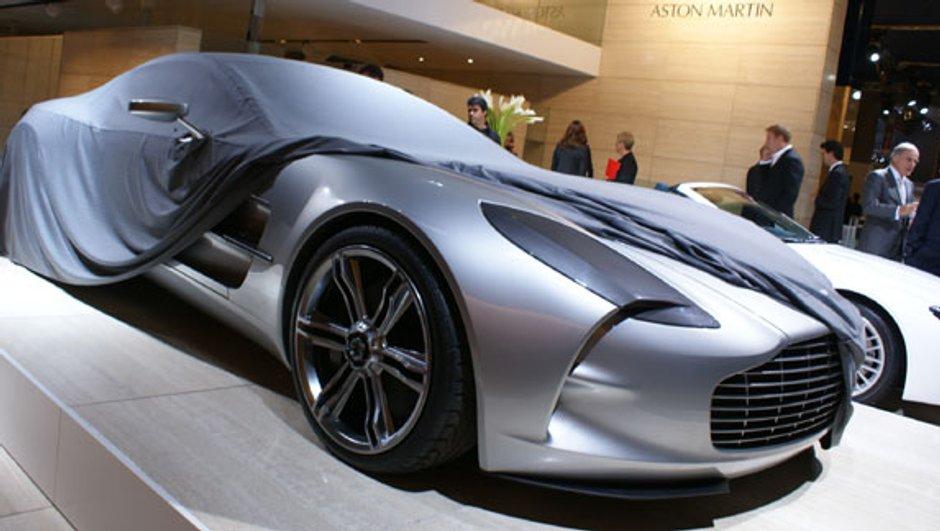 Aston Martin One-77 : Le buzz du Mondial