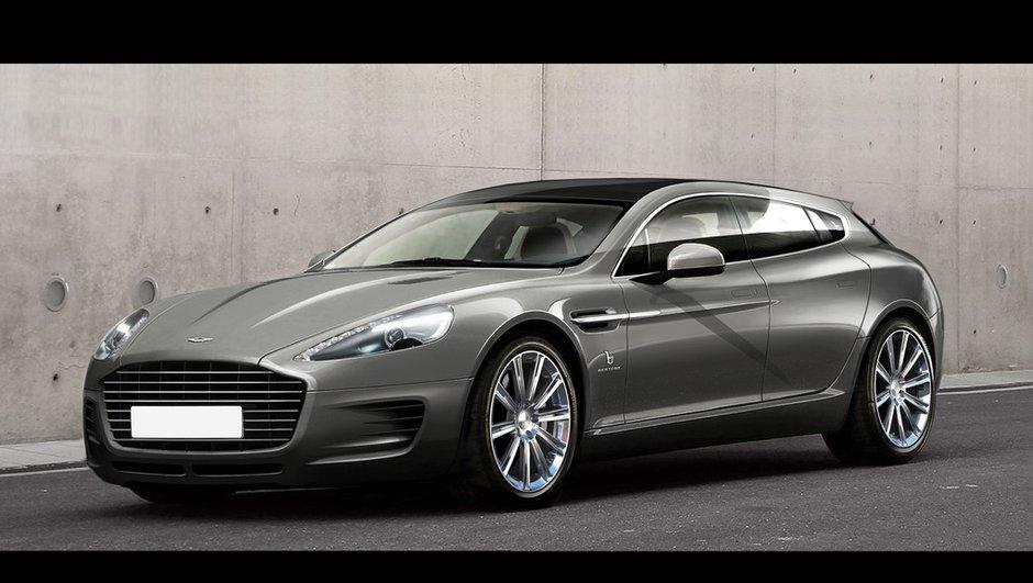 Salon de Genève 2013 : une Aston Martin Rapide façon Bertone