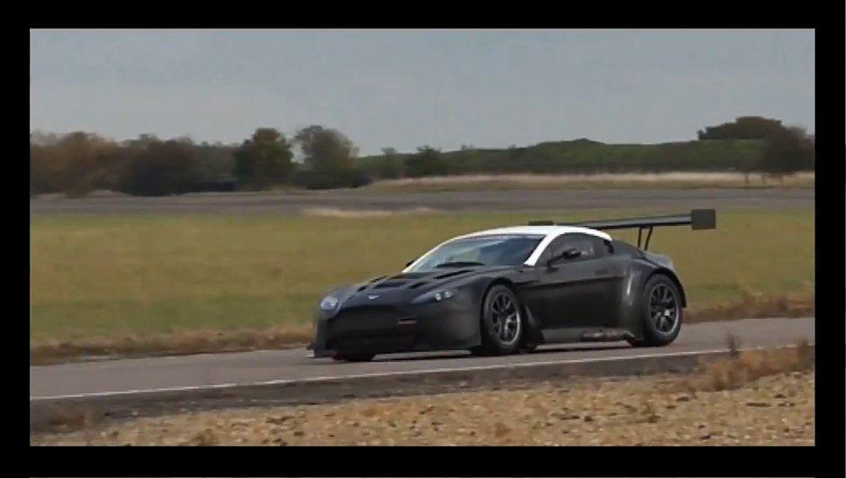 Vidéo : 1er tour en Aston Martin Vantage GT3